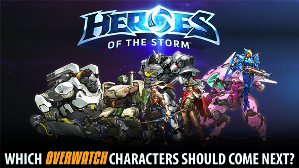 Overwatch in Heroes of the Storm